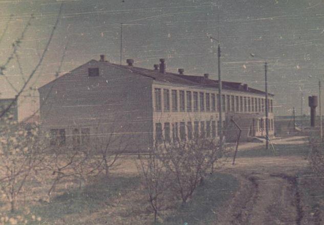 1970г. первая весна МБОУ Краснооктябрьской школы
